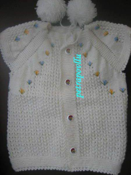 Knitted Boys And Girls Baby Sweater Vest Cardigan Patterns 157