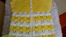 Knitted Boys and Girls Baby Sweater, Vest Cardigan Patterns