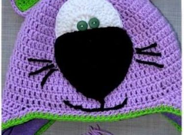 Knitted baby and child hat pattern-7