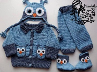 Knitted baby and child sweater patterns – Part-5