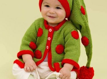 Knitted baby and child sweater patterns – Part-3
