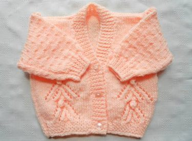 Knitted baby and child sweater patterns – Part-1