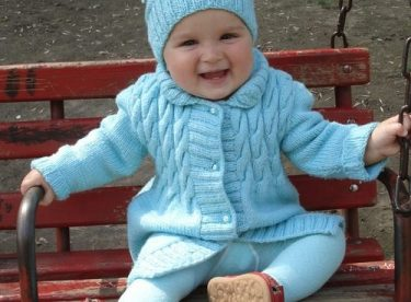 Knitted baby and child sweater patterns – Part-4