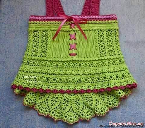 Knitted Children Dress Pattern Knitting Crochet Love