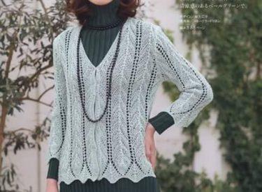 Tricot knitwear pattern