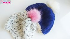 Very nice knitting hat making