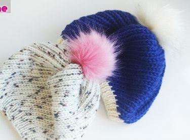 Very nice knitting hat making