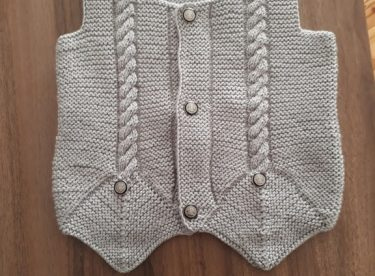 How to Crochet a Baby Vest – Easy Free Crochet Vest Pattern