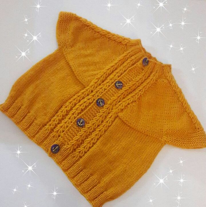 Knitted Baby Dress Vest Cardigan Sweater Overalls Patterns 586