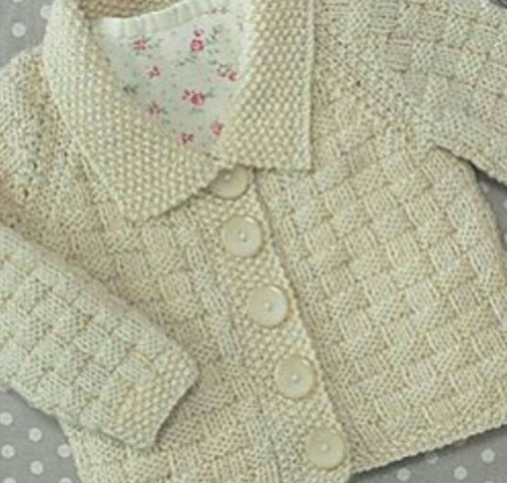 74f5d44d9f60 Knitted baby dress