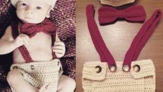 Newborn baby clothes, cardigan, hat, booties, sweater, dress