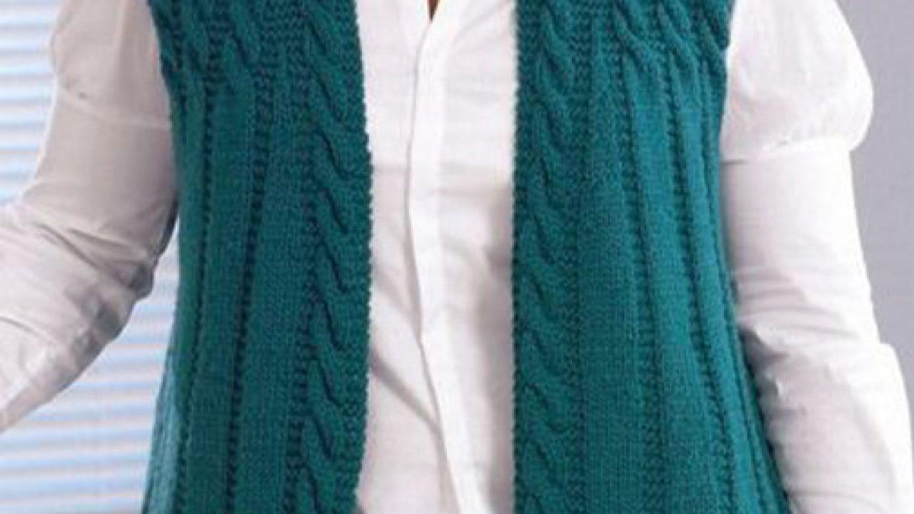 Women vests knitting free pattern