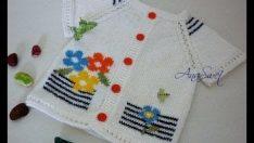 25 Pcs Knitted Baby Vest Models