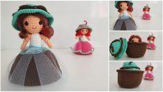 Amigurumi Cupcake Baby Composition