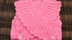 Girls Baby Vests Models 3 – Baby Girl Crochet Vests