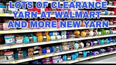 A lot of Yarn Clearance at Walmart and More New Yarns Still to Come Yarn Shopping Yarn Haul Video