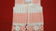 Beautiful Patterned Baby Vest