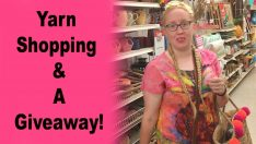 Yarn Shopping & A Giveaway!!
