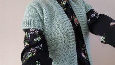 Crochet vest construction / Knitting patterns
