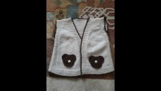 Knitted Baby Vest & Cardigan Models