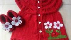 35 Red Baby Vest Models