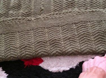 handcrafted knitted vest model 5 / handcrafted knitted vest model