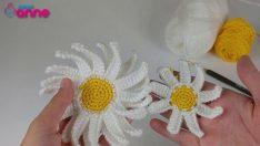 Crochet Daisy Making