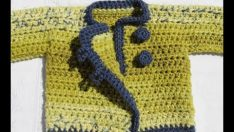 Easy crochet baby pants