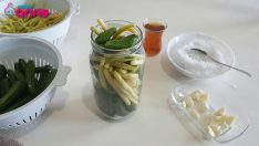Practical pickle making with boiling water