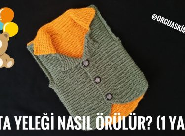 Turkish grandfather knitted baby vest pattern