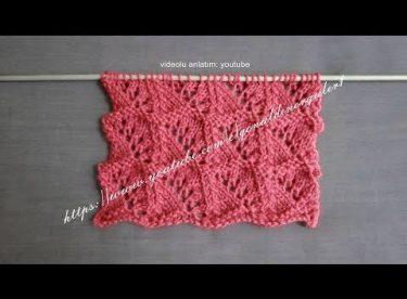 mini sailing knitting model turkish lecture