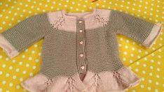 Leaf patterned baby vests