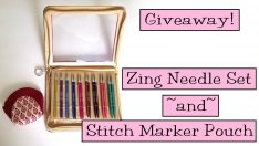 Knitter's Pride Needle Set and Stitch Marker Pouch Giveaway