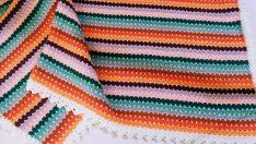Easy Crochet Block Blanket Tutorial (Eng. Subt.)