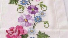 The most beautiful cross-stitch pattern +50