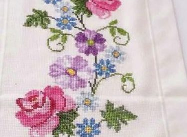 The most beautiful cross-stitch pattern +50