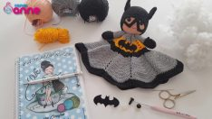 Amigurumi Batman Sleeping Friend