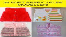 36 Baby Vests Models
