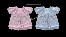 Beginning male and female baby vest models