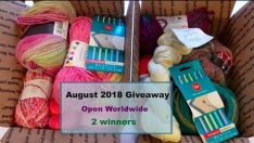 August 2018 Giveaway (open worldwide – 2 winners)