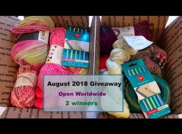 August 2018 Giveaway (open worldwide – 2 winners)