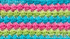 How to Crochet the Trinity Stitch – Blackberry & Bramble Stitchorama by Naztazia