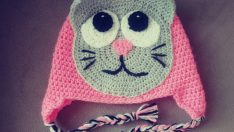 Cat hat crochet tutorial pattern