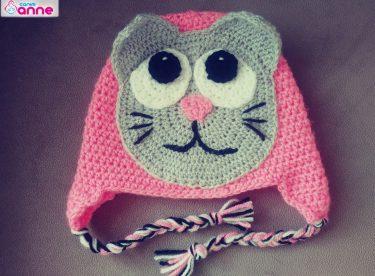 Cat hat crochet tutorial pattern