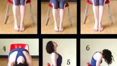 Chair Workout | BEST Chair Exercises for Abs