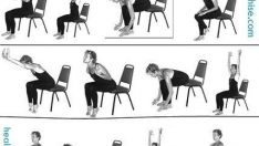 Chair Workout – Quick Chair Exercises