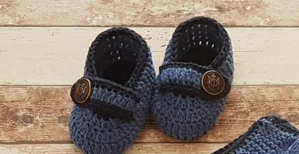 Baby booties pattern free