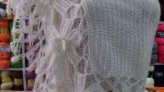 Knit wedding shawl pattern
