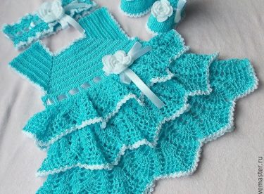 Crochet Baby Dress Patterns Knitting Crochet Love