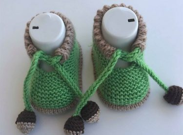 Acorn Baby Boots Pattern For Free